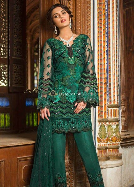781ba02013 ... Zainab Chottani Wedding Collection 2019- Emerald Sparkle ...