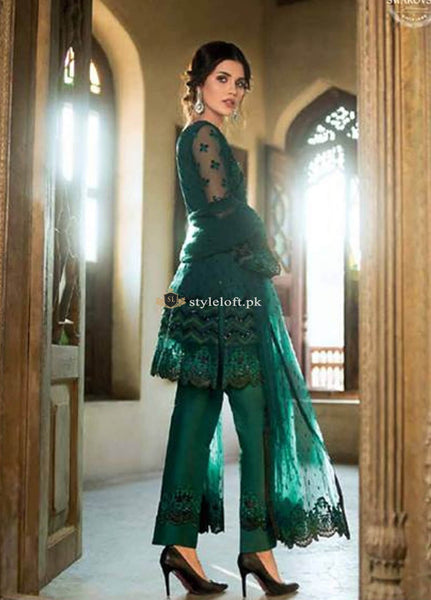 Zainab Chottani Wedding Collection 2019- Emerald Sparkle