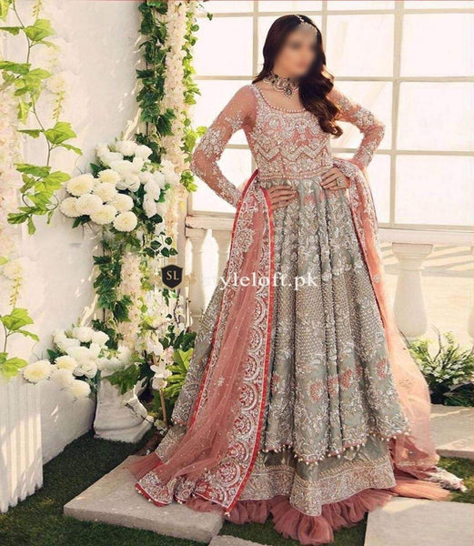 Styleloft.pk AYESHA IMRAN NET EMBROIDERED COLLECTION 3 PIECE