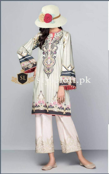 Styleloft.pk Baroque Lawn Collection 2020 Unstitched 3 Piece Suit 3 PIECE