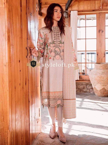 Styleloft.pk Beechtree Lawn Collection 2020 Unstitched 3 Piece Suit 3 PIECE