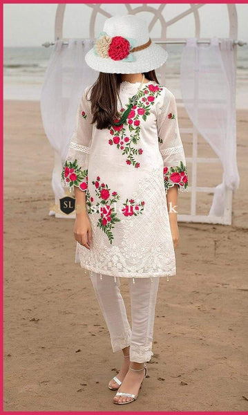 Styleloft.pk Charizma Embroidered 2Piece Suit (Shirt & Trouser) 2 PIECE