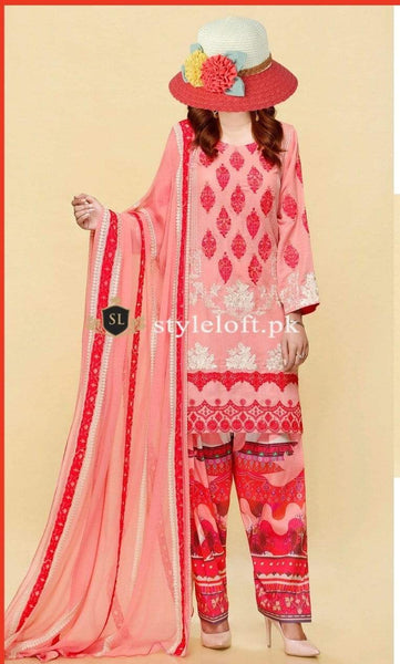 Styleloft.pk Charizma Lawn Collection 2020 Unstitched 3 Piece Suit 3 PIECE