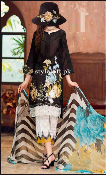 Styleloft.pk Charizma Unstitched Winter Collection 2020 3 PIECE