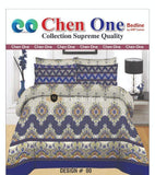 Styleloft.pk Chen one Supreme King Size Bedsheet D-157 bed sheets