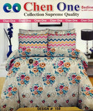 Styleloft.pk Chen one Supreme King Size Bedsheet D-158 bed sheets