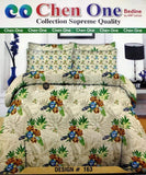 Styleloft.pk Chen one Supreme King Size Bedsheet D-163 bed sheets