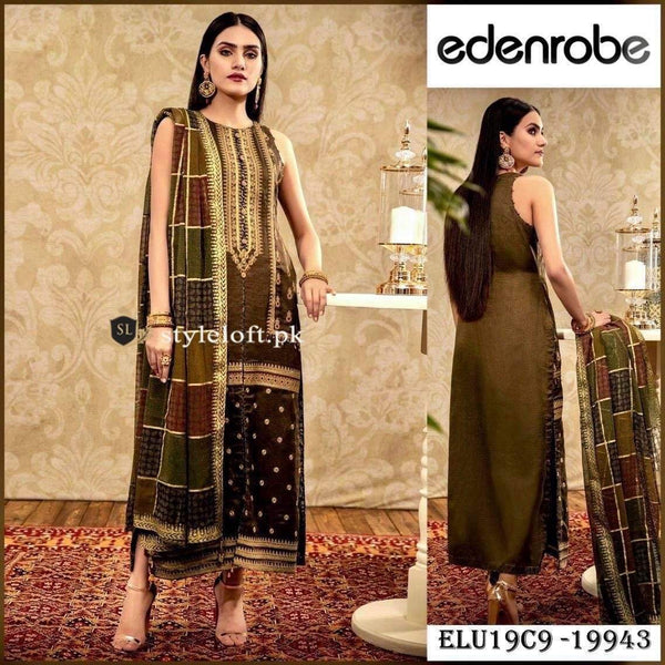 Styleloft.pk Eden Robe Lawn Collection 2020 Unstitched 3 Piece Suit 3 PIECE