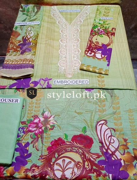 Styleloft.pk Firdous Lawn Collection 2020 Unstitched 3 Piece Suit 3 PIECE