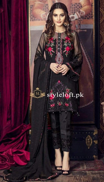 Styleloft.pk Imrozia Unstitched Linen 3Piece Dress 3 PIECE
