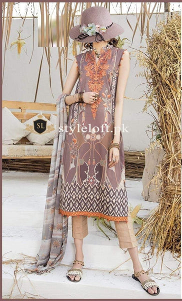 Styleloft.pk Iznik Unstitched Winter Collection 2020 3 PIECE
