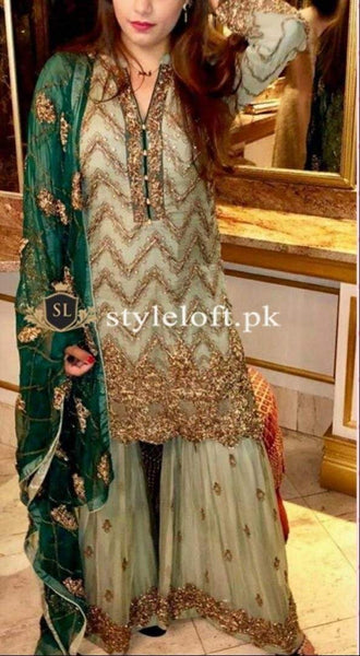 Styleloft.pk KASHEE'S EMBROIDERED CHIFFON COLLECTION THREE PIECE