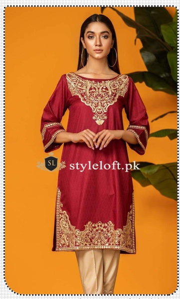 Styleloft.pk Kross Kalture Eid Collection 2020- 2Piece Unstitched Suit 2 PIECE