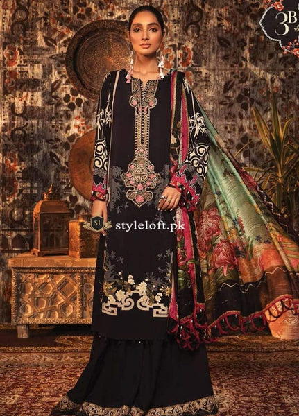 Styleloft.pk MB-004 Unstitched Winter Collection 3 PIECE
