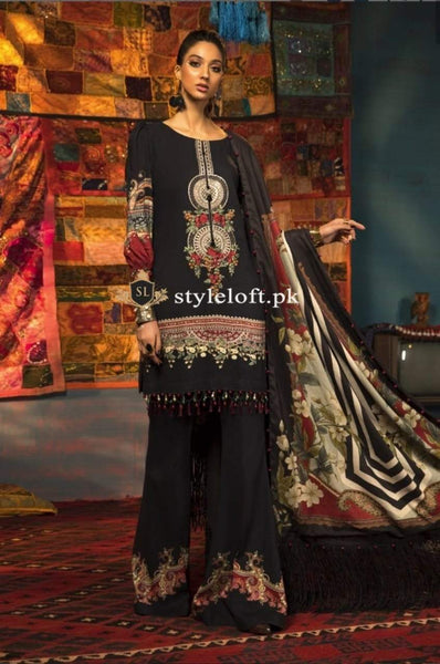 Styleloft.pk MB-005B Unstitched Winter Collection 3 PIECE