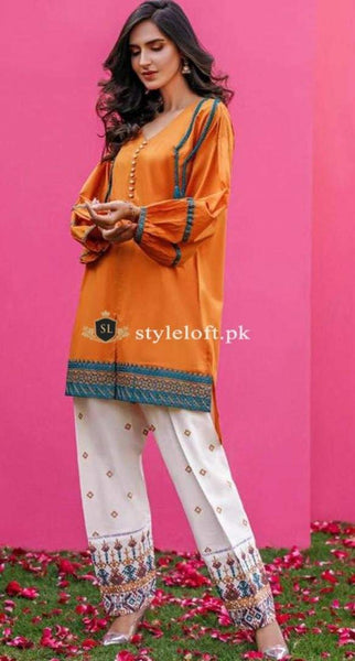 Styleloft.pk Nimsay Lawn Collection2020-2Piece Unstitched Suit 2 PIECE