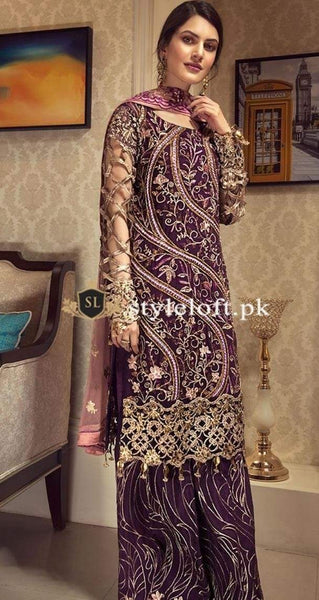 Styleloft.pk Zabtan Unstitched Linen 3Piece Dress 3 PIECE