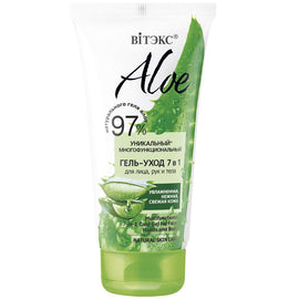 ALOE 97% Unique Multifunctional Gel-Care 7-in-1 for Face, Hands & Body - Belita.store