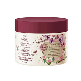 CREAM-BUTTER for Body and Hands ROSE SENTYPHOLIA and BLACK ORCHID - Belita.store