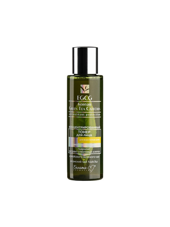 Korean GREEN TEA Face Concentrated Toner for All Skin Types - Belita.store