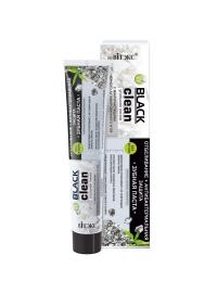 Toothpaste WHITENING + ANTIBACTERIAL PROTECTION with Black Activated Charcoal and Silver - Belita.store