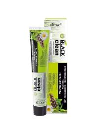 Toothpaste WHITENING + COMPLEX PROTECTION with Black Activated Charcoal and Medicinal Herbs - Belita.store