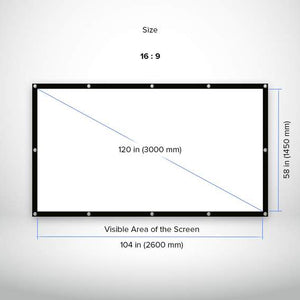cinema quality projection screen