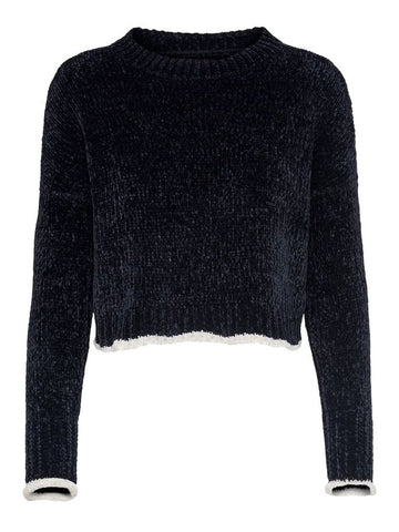 CROPPED KNITTED PULLOVER WWC 15183915