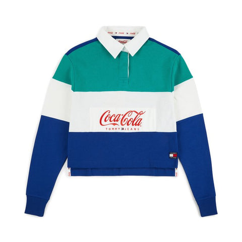Polo TOMMY JEANS X COCA COLA WSC DW06933