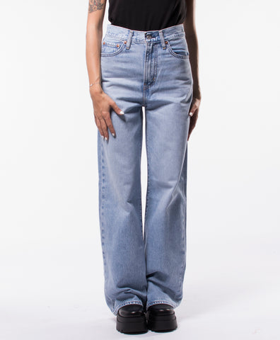 RIBCAGE WIDE LEG JEANS WWC 79112