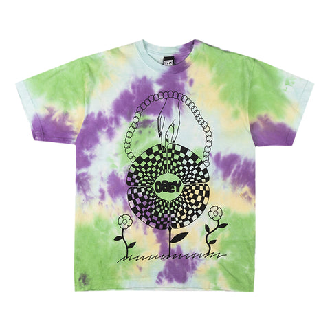 T-shirt OBEY IN BLOOM HEAVYWEIGHT