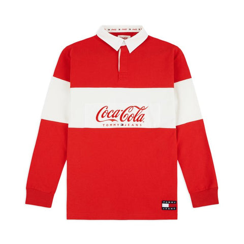 Polo TOMMY JEANS X COCA COLA SC DM06691