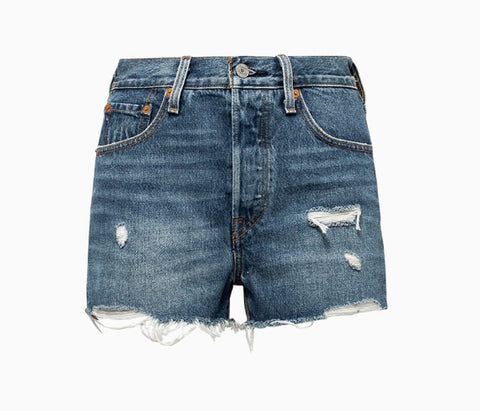 High waisted short LEVI'S WSC 56327