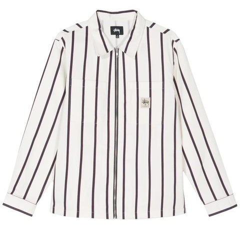 CAMICIA STÜSSY ZIP UP WORK SD 1110092