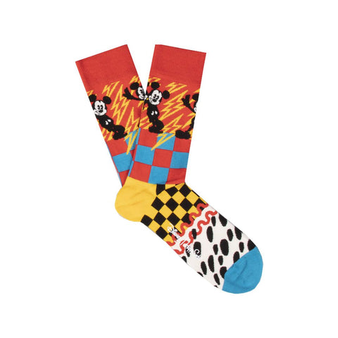 Calza Happy Socks Mickey Time DNY01