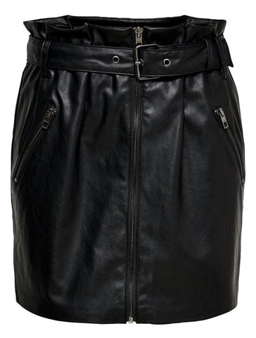 FAUX LEATHER SKIRT WWC 15186157
