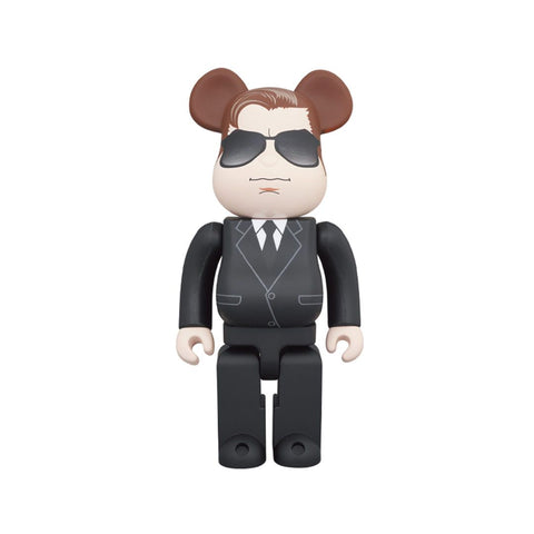 BE@RBRICK MAN IN BLACK MEDICOM TOY 400HAGENT