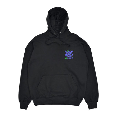 Felpa cappuccio Touch the Wood WD PANTHER HOODIE