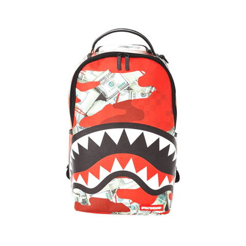 Zaino Sprayground Money Camo Red 910B3100NSZ
