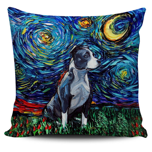 Pitbull Pillow Art 8.0!