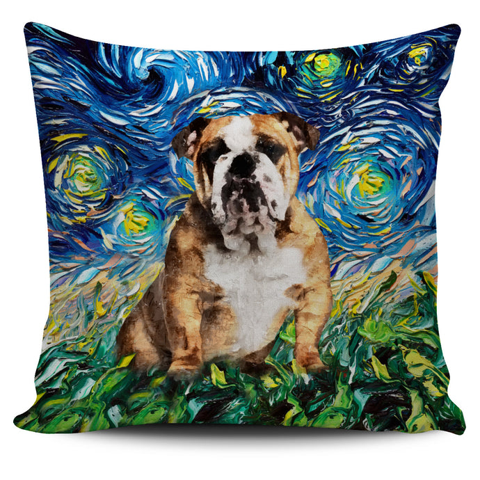Bulldog Pillow Art 9.0!
