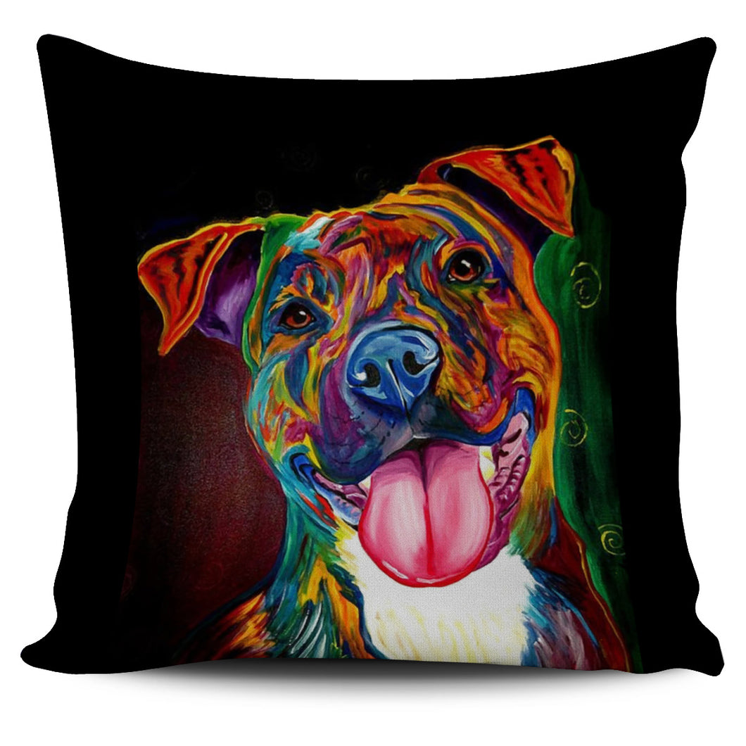 Pitbull Pillow Art 6.0!