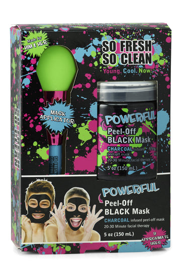 So Fresh So Clean POWERFUL PEEL-OFF BLACK MASK