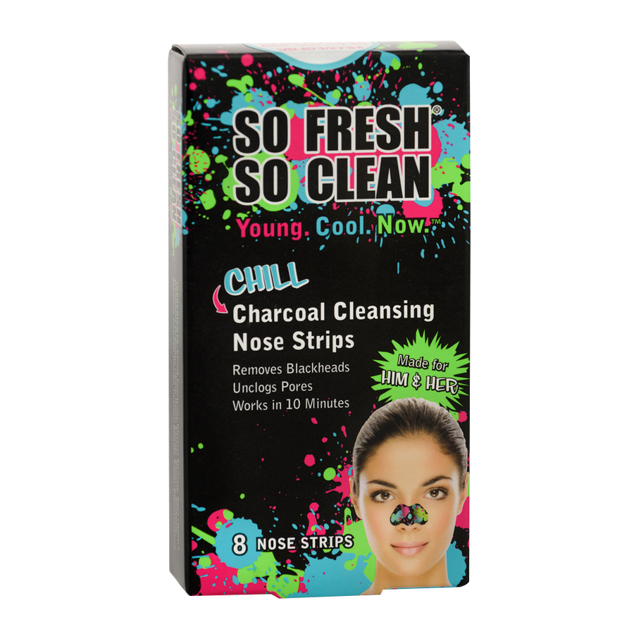So Fresh So Clean CHILL CHARCOAL CLEANSING NOSE STRIPS