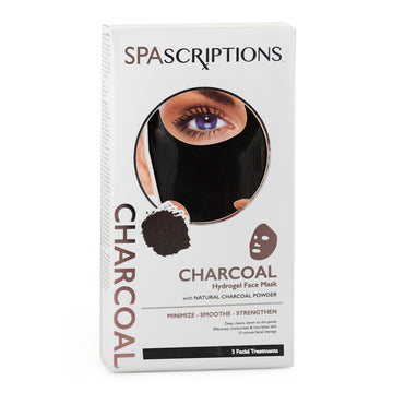 Spascriptions Hydrogel mask Charcoal