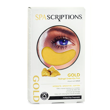 Spascriptions Hydrogel under eye mask Gold