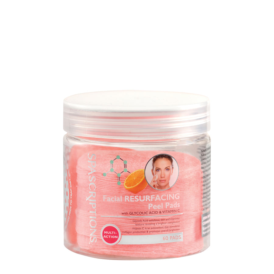 Spascriptions Makeup Remover Pads - Facial Resurfacing