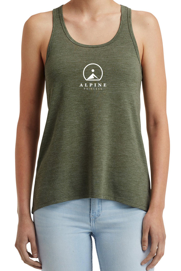 Logo tank top Forest Green