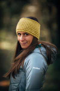 Larch Yellow Knitted Headband