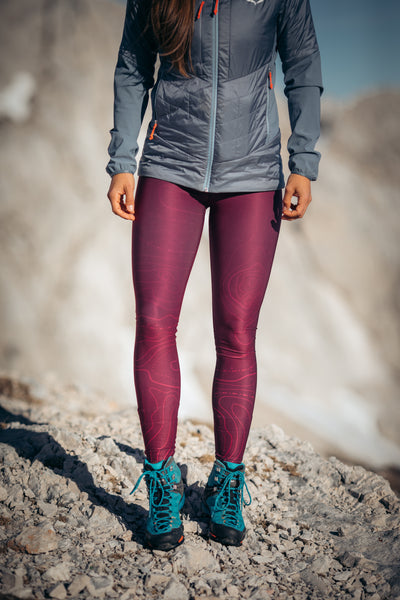 Pro Winter leggings Purple Horizon - Preorders